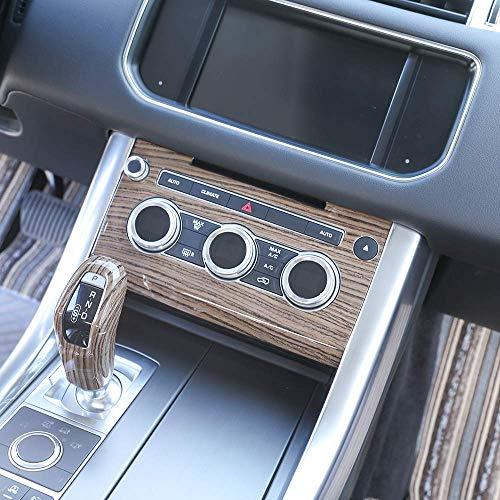 Sands Wood Grain Center Console Air Conditioner Volume Edge Decoration Frame Trim 1pc Range Rover Sport ()