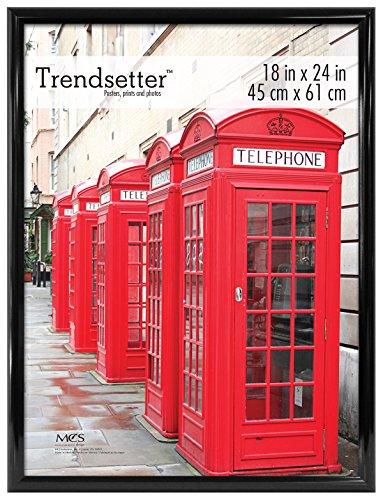 MCS 18x24 Inch Trendsetter Poster Frame, Black (27824) by MCS