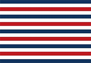 Amazon Com Aofoto 7x5ft Navy Blue Red White Striped Banner