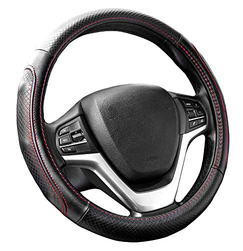 Leather Steering Wheel Cover - 9
