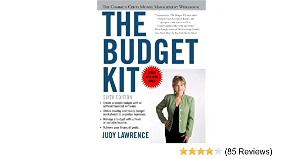 Amazon the budget kit the common cents money management amazon the budget kit the common cents money management workbook ebook judy lawrence kindle store fandeluxe