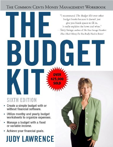 Amazon the budget kit the common cents money management the budget kit the common cents money management workbook by lawrence judy fandeluxe Gallery
