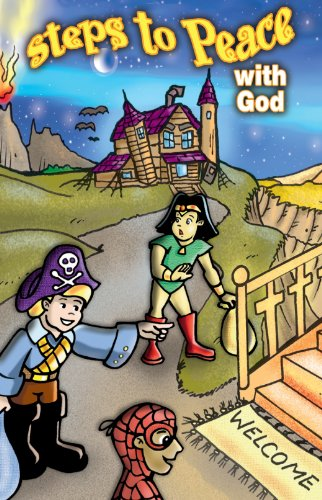 Halloween Steps to Peace with God (Pack of 25) -