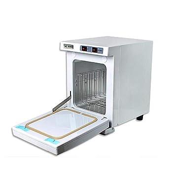 5L calentador de toallas UV esterilizador desinfección caliente gabinete con 2 interruptores salon spa cuidado de la salud facial: Amazon.es: Hogar