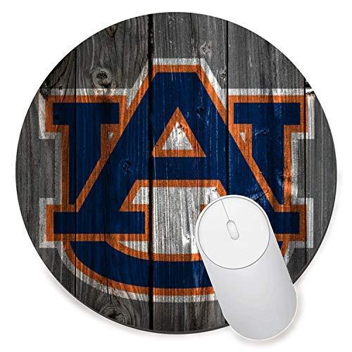 Round Gaming Mouse Pad Creative Custom Non-Slip Mouse Mat-Auburn University ()