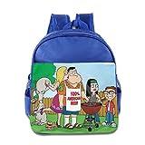Kids American Dad! School Backpack Style Children School Bag RoyalBlue