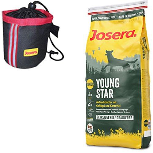 Josera 15 kg YoungStar Knuspie-Bag