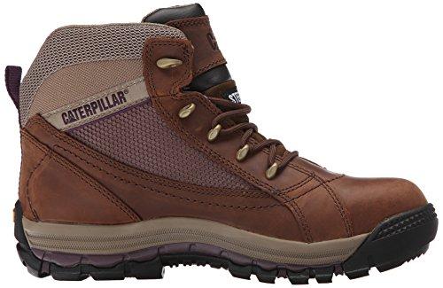 Zapato De Trabajo Con Punta De Acero Medio Caterpillar Champ Para Hombre, Marrón De Caterpillar