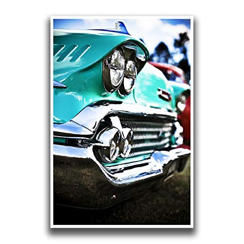 JSC228 Classic Chevy Car Poster | 18-Inches By 12-Inches | Premium 100lb Gloss Poster Paper