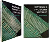img - for Reversible Two-Color Knitting book / textbook / text book