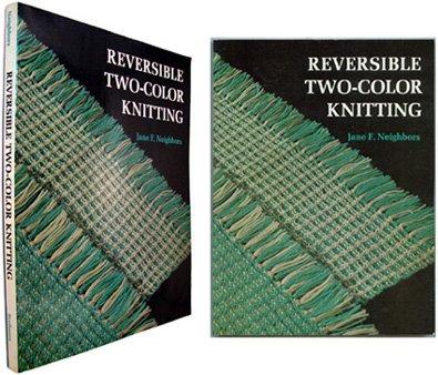 Reversible Two Color Knitting Jane Neighbors 9780684176475 Amazon