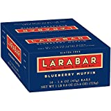 Larabar Gluten Free Blueberry Muffin Fruit & Nut Bars 16 ct Box (Pack of 4)