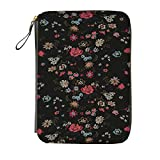 Hobonichi Techo Cousin - Antipast: Flower Rug (Black) Set (Japanese/A5/Jan 2018 Start)