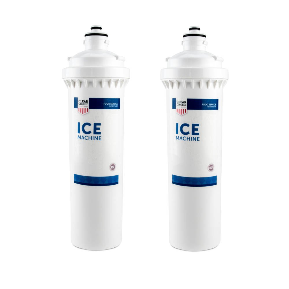 Clear Choice Ice Filtration System Replacement Cartridge for CUNO 55892-01 CFS5631604 Also Compatible with 3M 70020017219, AquaPure AP327, 2-Pack