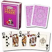 Modiano Texas Poker Jumbo - Purple