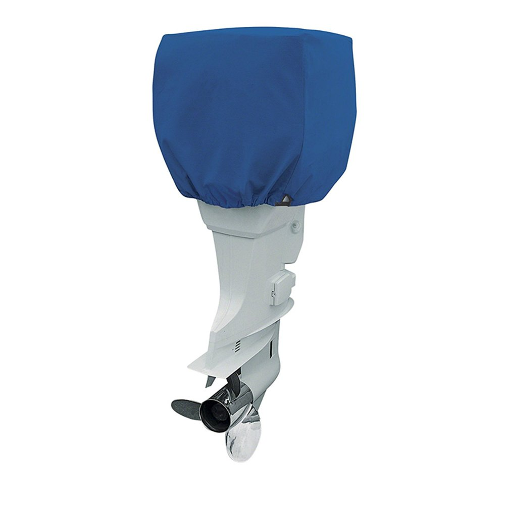 25-50HP, 50-115 HP,115-225 HP and UV Resistant with Thick Polyester Fabric COCO Outboard Motor Cover Waterproof Boat Motor Cover up to Mildew Resistant