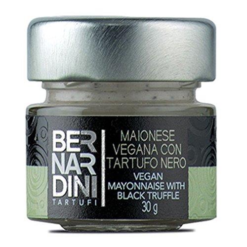 Bernardini Tartufi Mayonesa Vegana con Trufa Negra - 3 Paquetes de 1 x 30 gr -