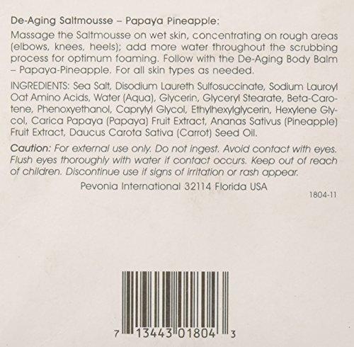 51ywCcnIq%2BL Pevonia De-Aging Saltmousse, Papaya/Pineapple, 6.8 Ounce
