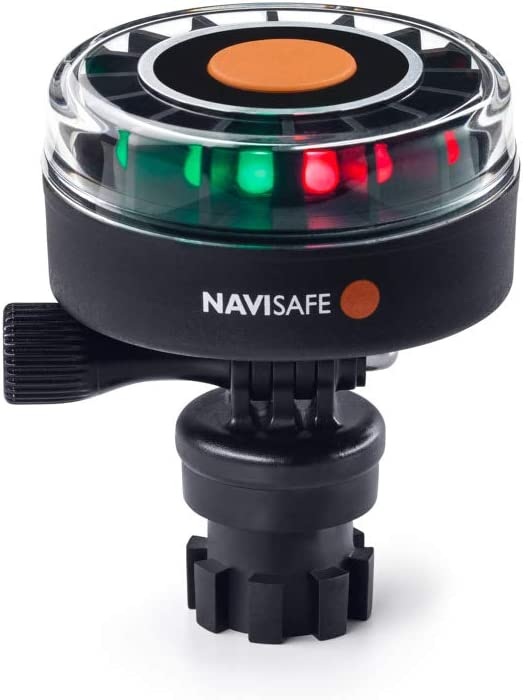 NAVISAFE Navilight Tricolor (Red, Green, White) 2NM w/Navimount Base