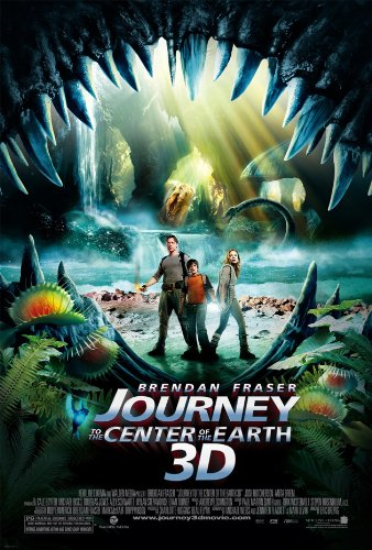 JOURNEY TO THE CENTER OF THE EARTH MOVIE POSTER 2 Sided ORIGINAL 27x40