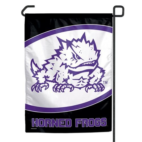 TCU Garden Flag Texas Christian Horned Frogs Garden Flag TCU
