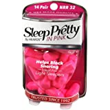 Hearos Sleep Pretty in Pink Women'S Ear Plugs, 14 Count