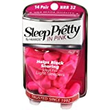 HEAROS Sleep Pretty in Pink Ear Plugs, With The Highest Snoring & Noise Canceling Rating NRR 32dB, Making This Pink Ear Plugs For Sleeping The Best Gift 14 pair