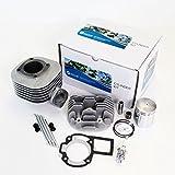 NICHE Cylinder Piston Gasket Cylinder Head Kit for Suzuki QuadSport LT80 1987-2006