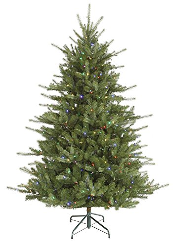 (Vickerman 7.5 Ft Colorado Spruce Artificial Christmas Tree w/Multi-Color Lights)