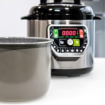 Eurroweb - Robot de Cocina multicocción 6 L 1000 W – a Vapor, guisos, Fuego Suave, Bolsillo, confirmación, fermentación, Pan, Postre, arroz: Amazon.es: Electrónica