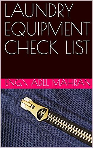 LAUNDRY EQUIPMENT CHECK LIST