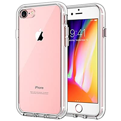 JETech Case for Apple iPhone 8 and iPhone 7, 4.7-Inch, Shock-Absorption Bumper Cover, Anti-Scratch Clear Back from JETech