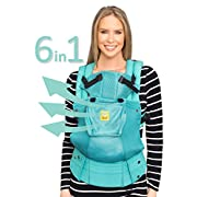SIX-Position, 360° Ergonomic Baby & Child Carrier by LILLEbaby – The COMPLETE Airflow (Caribbean Sea)