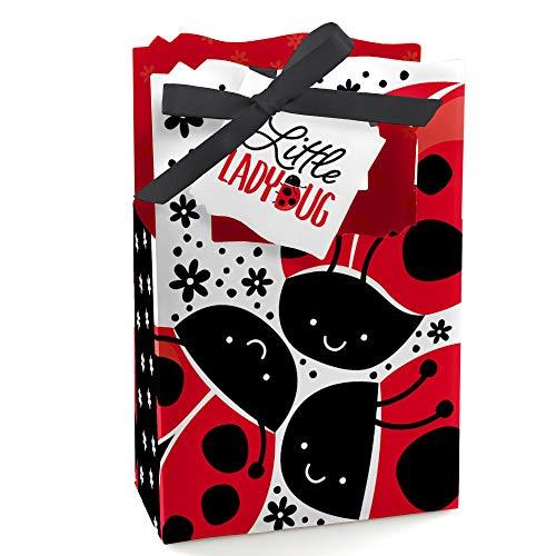 Ladybug Baby Shower Theme (Modern Ladybug - Baby Shower or Birthday Party Favor Boxes - Set of)