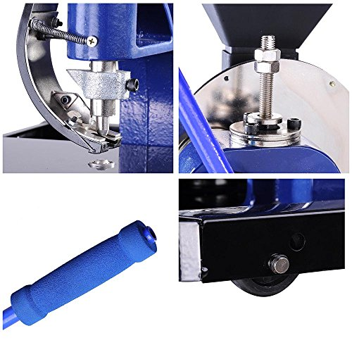 Yescom Semi-automatic #2 Die Hand Press Grommet Machine w/ 4000Pcs Grommets & Eyelet Feeding & Rolling Base Tool Kit by Yescom (Image #4)