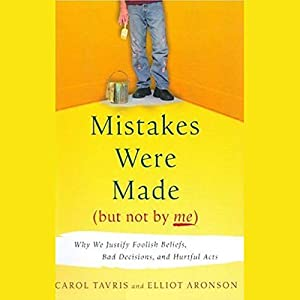 Mistakes Were Made (But Not By Me) Audiobook