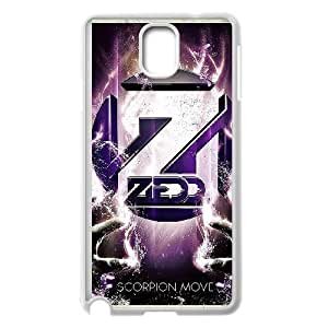 Zedd (1) funda Samsung Galaxy Note Funda caja del teléfono celular 3 cubren blancos, funda del teléfono celular de plástico