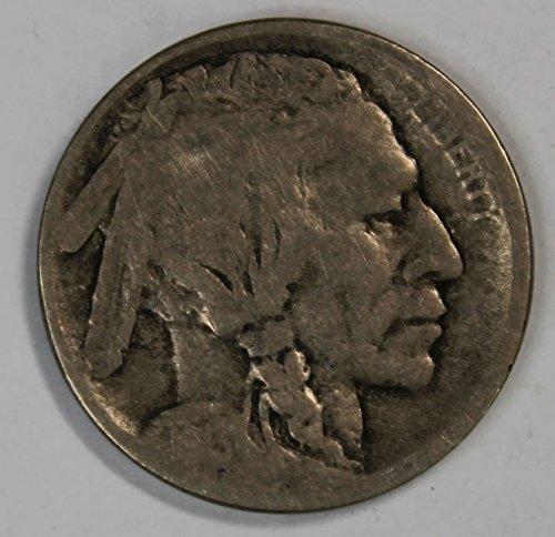 1913 D Buffalo Nickel Type 2 5c Good