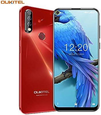 OUKITEL C17 Pro Dual 4G Smartphone Libre, Pantalla de Perforada ...
