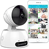 Indoor Wireless IP Camera - HD 720p Network Security Surveillance Home Monitoring Featuring Motion Detection, Night Vision, PTZ, 2 Way Audio, iPhone Android Mobile App - PC WiFi Access - IPCAMHD30