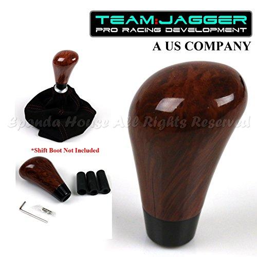 EpandaHouse Fits Jap Cars! M12 M8 M10 Threads! Luxury Walnut Wood Color Manual Gear Stick Shift Knob+Set Screws
