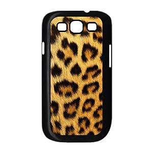 Samsung Galaxy S3 9300 Cell Phone Case Black Snow leopard Xqwk