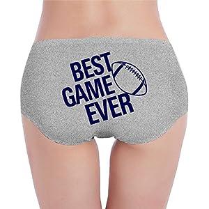TIA HICKS Best Game Ever Thanksgiving Women's Soft Underwear Briefs Pajamas Pyjama Trousers