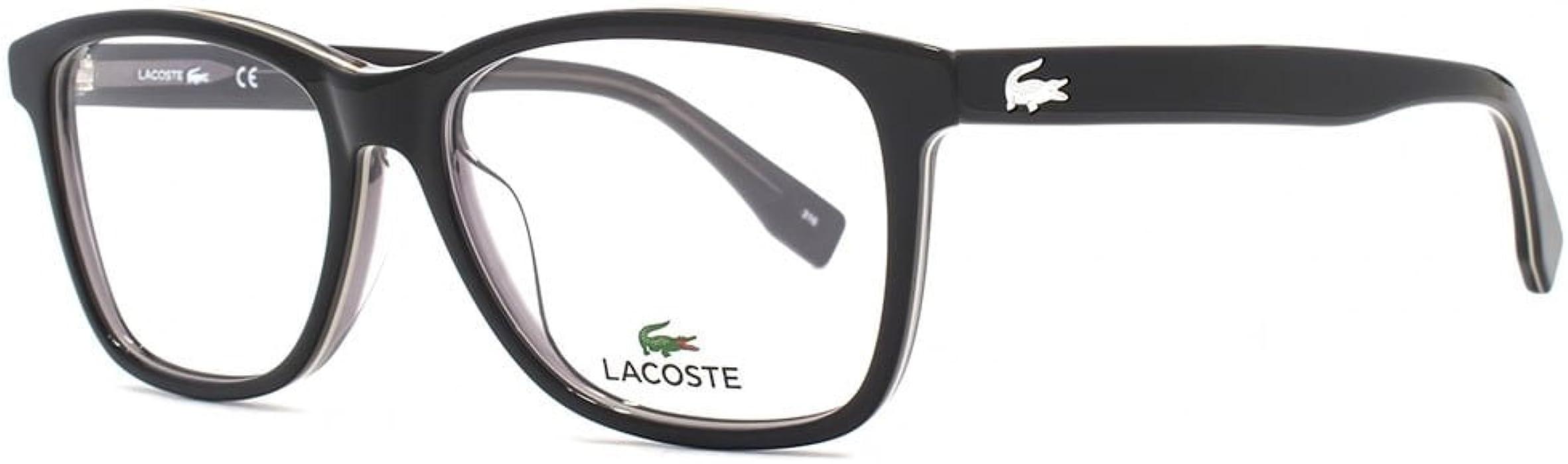 ee4d9b4d59a Eyeglasses LACOSTE L2776 001 BLACK at Amazon Men s Clothing store