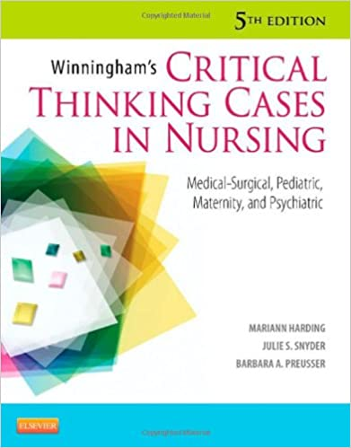 Winningham's critical thinking cases in nursing ebook free