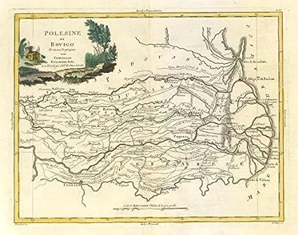 Amazon Com Polesine Di Rovigo River Po Delta Region Veneto