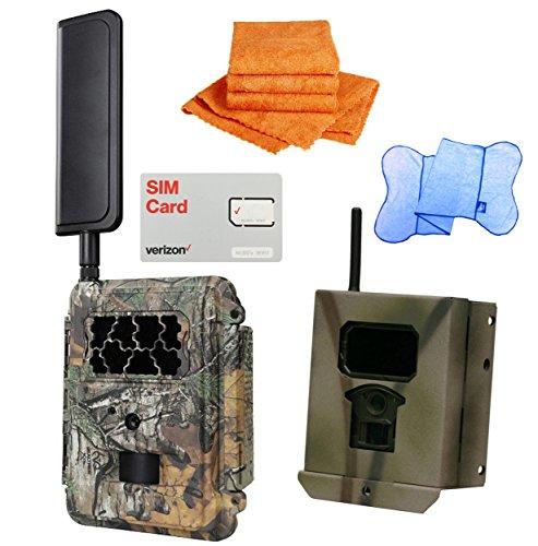Spartan HD GoCam Verizon 4G/LTE, Blackout Flash, with a Security Box