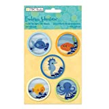 The Paper Company, 2010126, Undersea Adventures Foam Stickers W/Beads