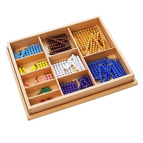 Montessori Math Materials Colored Bead