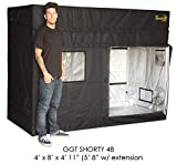 Gorilla Grow Tent Shorty 4 x 8 w/9'' Extension Kit 2018 Model